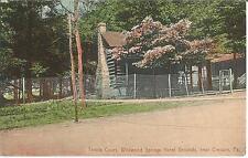 Tennis Court, Wildwood Springs Hotel Grounds near Cresson, Pa., USA, Tennisplatz