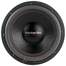 """American Bass 12"""" Competition Subwoofer 3000W Max Dual 1 Ohm Car Audio HD Series"""