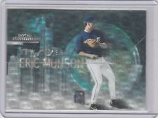 2000 Skybox Dominion New Era Warp Tek #4NEWT Eric Munson Atlanta Braves