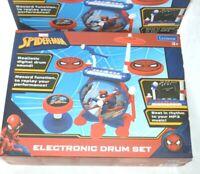 Lexibook Spiderman Infant Rockband Electric Drum Set (3+ Years)