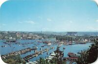 Postcard Portage Bay and Seattle Yacht Club Washington
