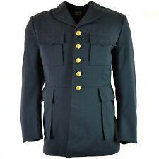 Original vintage Swedish army marines dress uniform jacket. Sweden uniform