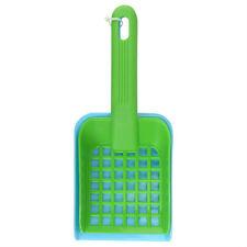 pelle passoire bac à litière vert et bleu 20 cm