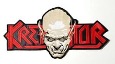 KREATOR  SHAPED LOGO EMBROIDERED BACK PATCH