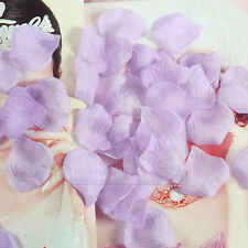 400~1000ps Various Colors Silk Fake Flower Rose Petals Wedding Party Decorations