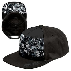 MARVEL OFFICIAL CAPTAIN AMERICA AVENGERS STAR CAP HAT