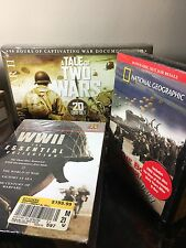 Lot Of 5 Sets World War 1&11 And Military History DVDs (55 DVDs Total).    #007