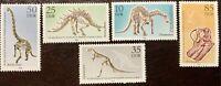 DDR #Mi3324-Mi3328 MNH CV€2.80 Dinosaurs Paleontology [2812-2816]