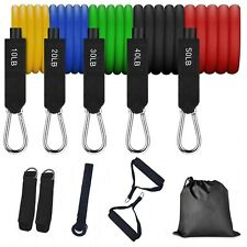 *USA SLLERS* 150 lbs Stackable Resistance Bands Set Gym Exercise Fitness Workout