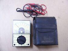 Sears Vintage 452 5201 Multitester Voltmeter With Case