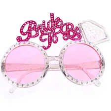 Bride To Be Glasses Pink Diamond Ring Shower Bride Sunglasses Bachelorette`Party