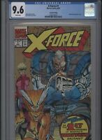 X-Force #1 CGC 9.6 - 2nd print SECOND wraparound gold ink cover 1991