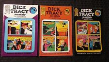1987 DICK TRACY MONTHLY #10 11 17 VF+ Blackthorne by Chester Gould LOT of 3