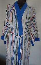 New listing Vintage 1970s Christian Dior Monsieur Multi Color Striped Men's Belted Bathrobe