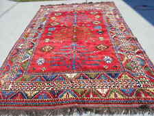 82x117in Afghan Tree of Life Afghan Collectable 6.10x9.9ft No Reserve