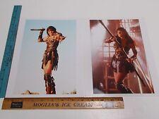 Modern 8x10 Lucy Lawless Xena Warrior Princess TV Show 2 Photo Set