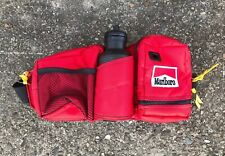 Vintage Marlboro Adventure Gear Red Fanny Pack Utility Pouch Camping Hiking Bag