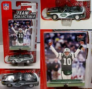 2003 NFL New York Jets Chad Pennington Die Cast Mustang Scale 1:64