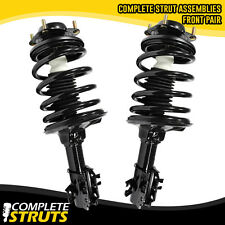 97-99 Mercury Tracer Quick Complete Front Struts & Coil Spring w/ Mounts Pair x2