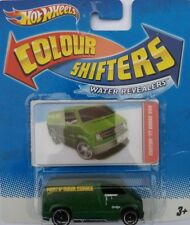 Hotwheels Color Shifters agua revealer'77 Dodge Van bnoc 2010 Hot Wheels #5