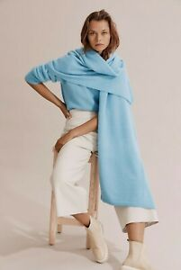 COUNTRY ROAD 200 cm x 70 cm BRUSHED SCARF in Oxygen RRP$119