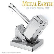 Fascinations Metal Earth Mjolnir Thor's Hammer Marvel Laser Cut 3D Model