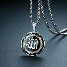 Muslim Women Men Silver Gold Plated Islamic God Allah Pendant Necklace Jewelry