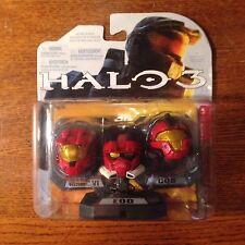 HALO 3 HELMET 3PK!! MARK VI, EOD, CQB! BNIB! ALL RED