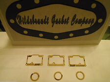 1969-76 KAWASAKI H1 500 FLOAT BOWL GASKETS ($6.99ca SALE) + 3  FREE TOP GASKETS