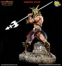 Pop Culture Mortal Kombat Artist Proof Shao Kahn Konqueror Exclusive 1/4 Statue