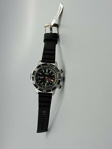 New TIMEX INTELLIGENT T2N810 Indiglo Depth Gauge Thermometer Men's Watch 200m