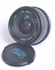 CARL ZEISS JENA II MC MACRO 24MM F2.8 WIDE ANGLE LENS M42 MOUNT
