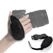 New Camera Hand Grip for Canon EOS Nikon Sony Olympus DSLR Leather Wrist Strap