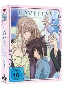 Loveless (Gesamtausgabe)[3 DVDs/NEU/OVP] 12-teilige Anime Serie