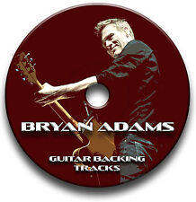 BRYAN ADAMS ROCK STYLE AUDIO GUITAR BACKING TRACKS COLLECTION JAM TRACKS CD