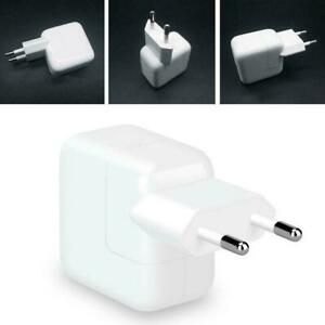 12W Fast Charger For Apple Iphone Ipad Tablet USB US/EUPlug Power Adapter R6V5