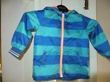 Marks and Spencer blu a righe mesh Foderato Impermeabile Pantaloni 18 24 MESI