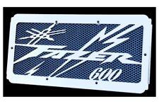 cache radiateur grille de radiateur inox poli pour Yamaha 1000 Fazer 1998 2005 grillage bleu