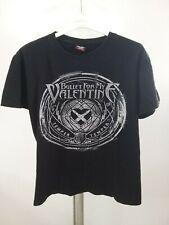 Bullet For My Valentine Black Men's T Shirt Short Sleeve Shirt SIize M Cotton