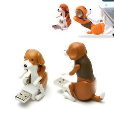 Portable Funny Cute pet USB Humping Spot Dog Toy Christmas Gift Gray 60x30x60 mm