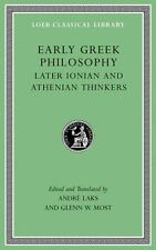 Loeb Classical Library: Early Greek Philosophy : Later Ionian and Athenian...