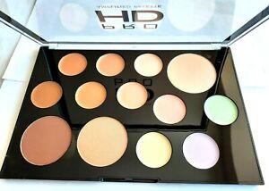 Revolution The Face Works Pro HD Face Palette - Light Medium Highlighter/Bronze