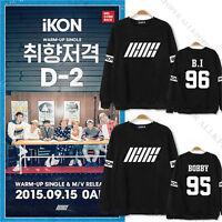KPOP IKON Welcome Back  Sweater JINHWAN B.I Hoodie Unisex Pullover Bobby Jun Hoe
