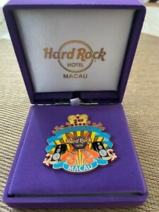 Hard Rock Cafe Macau 2nd Anniversary Pin