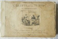 * RARISSIME : L'EGYPTE ET LA NUBIE - VOYAGES DE BELZONI - EDITION ORIGINALE 1823