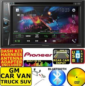 GM CAR-TRUCK-VAN-SUV PIONEER CD/DVD BLUETOOTH USB AUX CAR RADIO STEREO PACKAGE