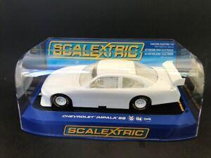 Scalextric C2957 NASCAR Chevy Impala  SS Undecorated 1:32Scale Slot Car w/box
