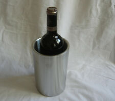 1 wine whiskey ice pillar bucket cooler chiller stainless steel waist home bar
