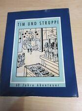 Album di fumetti Tintin Tintin 60 anni di avventure 38x29 cm 47 pagine