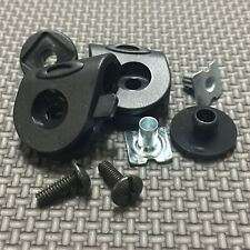 OAKLEY Football Helmet Visor Eye Shield Installation Clips / Hardware Set